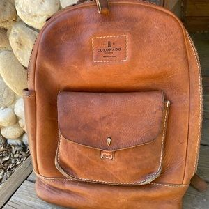 Coronado Vintage Stonewashed Backpack #115